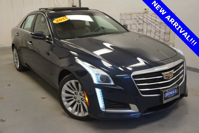 Pre-Owned 2015 Cadillac CTS 2.0L Turbo Performance